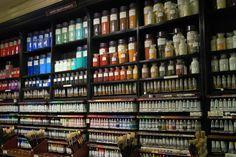 British Museum, Art School, Color Inspiration, Art Supplies, Britain, Sons, It Cast, Palette, Shelves