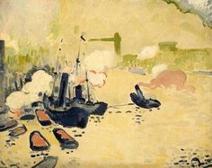 """André Derain (1880-1954) """" View of the Thames"""
