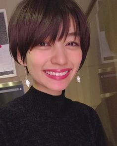 Pin on ヘアカット Hair Color And Cut, Cut My Hair, New Hair, Tomboy Hairstyles, Short Hairstyles For Women, Cool Hairstyles, Girl Short Hair, Short Hair Cuts, Short Hair Styles