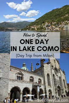 Is Lake Como in Italy on your bucket list? Here my best insider tips about what to do and where to eat in one day, from a local expat. Click for all the details on this easy day trip from Milan!