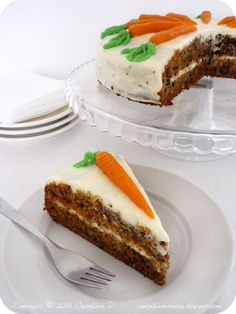 Carrot Cake by Catalina pece