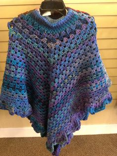 Poncho by PolkaDotsNLace on Etsy, $35.00