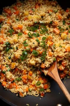 Quinoa Fried Rice- u