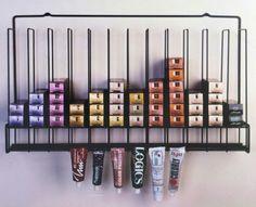 Salon Hair Color Tube Storage Rack #TCR - Tube Color Storage - Salon Interiors #SalonInteriorsInc