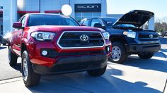 Is 'both' an option? The 2016 Toyota Tacoma and Tundra are on the lot.