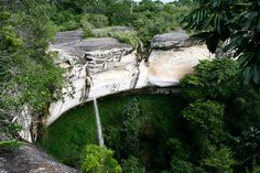 Limestone gorge in Gorongosa Nat. Park. BEAUTY.
