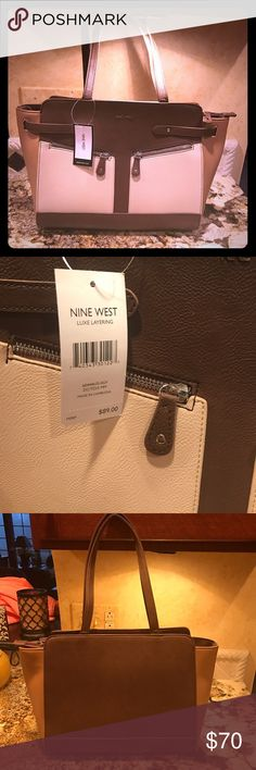 NWT Nine West Colorblock Bag 👜 Never used NWT Nine West bag Nine West Bags Shoulder Bags