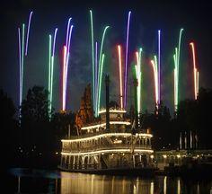 Mark Twain Fireworks