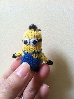 Ravelry: Tiny Minion pattern by Kelly Vu