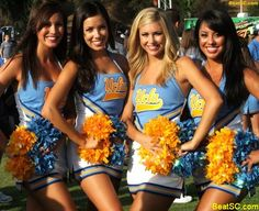 College Cheerleader Heaven: Ranking the 15 Hottest College Cheer Squads of 2013 Cute Cheer Pictures, Cheer Picture Poses, Cheer Pics, College Cheerleading, Cheerleading Outfits, Dallas Cheerleaders, The Sporting Life, Ice Girls, Ucla Bruins