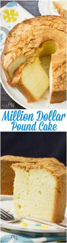 Million Dollar Pound Cake is in the TOP 5 READER FAVORITE RECIPE on my site. For good reason, this is the perfect pound cake recipe For full recipe>>http://www.callmepmc.com/million-dollar-pound-cake/?utm_campaign=coschedule&utm_source=pinterest&utm_medium=Paula%20%7C%20CallMePMc.com&utm_content=Million%20Dollar%20Pound%20Cake