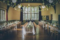village hall wedding ideas
