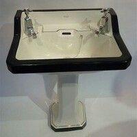 basin sink public spaces bristol basins art deco antiques