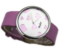 Zegarek z sercami