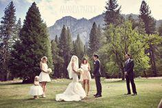Elegant Yosemite Wedding   Photo by Amanda Patrice
