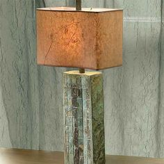 Have eye on this slate table lamp...