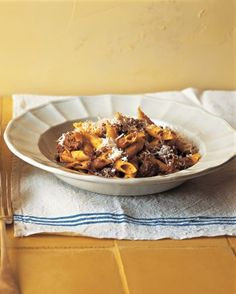 """See the """"Garganelli with Pork Ragu"""" in our Classic Pasta Dishes gallery"""