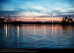 Foto 'Hafenkulisse Hoek van Holland' von 'birdys'