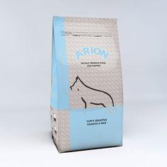 Arion Premium Puppy Sensitive Salmon & Rice, hipoalergénico para cachorros