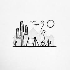 doodles easy simple ~ doodles _ doodles easy _ doodles drawings _ doodles zentangles _ doodles for bullet journal _ doodles art _ doodles easy simple _ doodles easy cute Doodle Drawings, Doodle Art, Doodle Ideas, Cactus Drawing, Cactus Painting, Cactus Art, Simple Doodles, Simple Art, Easy Simple Drawings