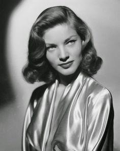 Lauren Bacall Short 1940s Hairstyle