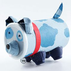 This would be really cute as a piggy bank!