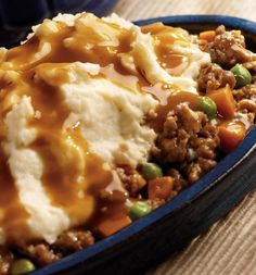 Recipe for 30 Minute Shepherds Pie - Comfort food at it's best and it's quick and really pretty darn healthy!