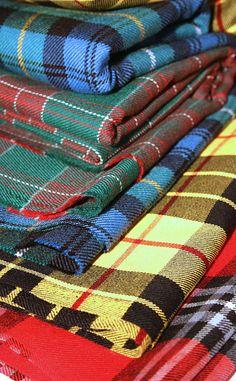 Tartan Fabric by Scotweb Tartans, Tweeds, & Fabrics