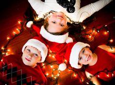 Holiday photo idea for the boys.