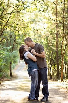 Chelsea Park Photography: Morgan & Melissa - Kiss - Couple - Engagement Photos