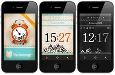 The Alarm App - Stylowy budzik dla iPhone'a / Stylish alarm app for iPhone