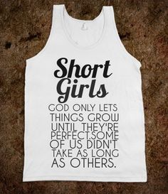 SHORT GIRLS TANK - glamfoxx.com - Skreened T-shirts, Organic Shirts, Hoodies, Kids Tees, Baby One-Pieces and Tote Bags