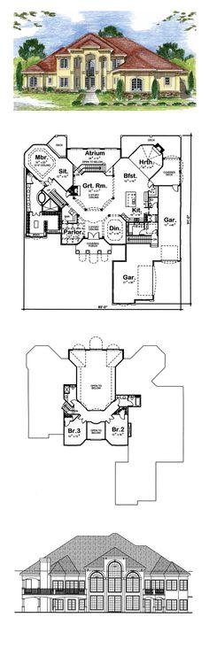 Duplex multiplex plans on pinterest by familyhomeplans for Family homeplans com