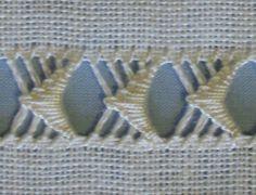 drawn thread work                                                                                                                                                      More