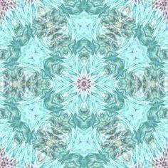 Kaleidoscope Green Star
