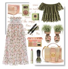 """""""Basket Bags"""" by bysc ❤ liked on Polyvore featuring Zimmermann, Mark Cross, Benefit, trèStiQue and Oribe"""