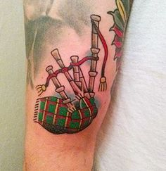 scottish bagpipe tattoo best tatoo i have ever seen scottish rh pinterest com bagpipe tattoo 2017 bagpipe tattoo designs