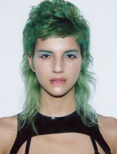 """williamewright: """" Isabel (preview) / ph. by me """" i rly want a mullet this is such a good look"""