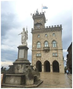 Palazzo Publico na Piazza della Libertà em San Marino