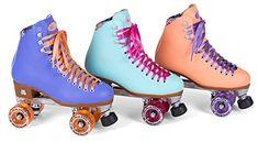 New! Moxi Beach Bunny Indoor / Outdoor Quad Roller Skates...