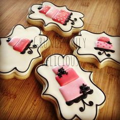 Birthday Cake cookies by Grunderfully Delicious-Find Me on Facebook