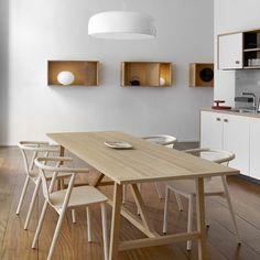 Jasper Morrison reveals first kitchen design for Schiffini Interior Design Work, Interior Styling, Minimalist Interior, Minimalist Home, Morrison, Design Tisch, Rustic Kitchen Design, Cuisines Design, Küchen Design