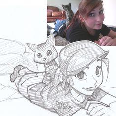Dejafeutre Sketch by Banzchan.deviantart.com on @deviantART