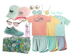 Spring Break Getaway! by xipiamin on Polyvore featuring Fraternity, NIKE, Vera Bradley, Banana Republic, Lilly Pulitzer, Southern Tide and CamelBak