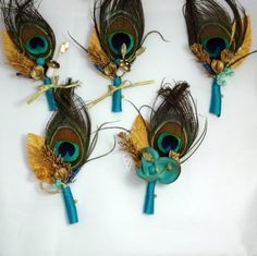 heather boutonniere - Google Search