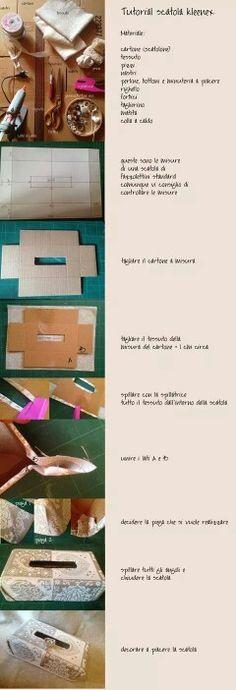 Tutorial copri scatola kleenex