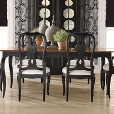 34 Best Ethan Allen Dining Images