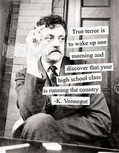 Vonnegut. One of the many reasons I want to name my son Kurt.