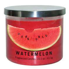 Watermelon Jar Candle. Walmart. $5 But really all the fragrances!