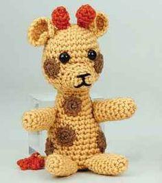 Crochet Giraffe Plush Toy Pattern